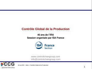 2007 - IRA - Controle Global de la Production.ppt