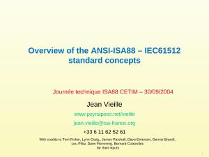 2004 - CETIM - Overview of the ANSI-ISA88 - IEC61512-1 standard concepts.ppt