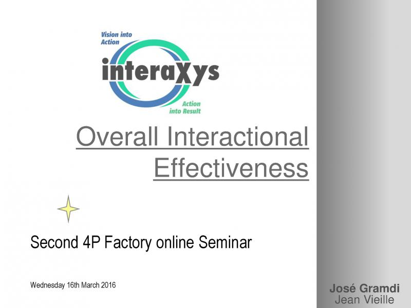 Overall Interactional Efficiency